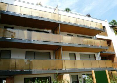 Duralin Leichtmetall GmbH Balkon und Sichtschutzwand