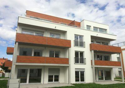 Duralin Leichtmetall GmbH Balkongeländer mit Holzoptik