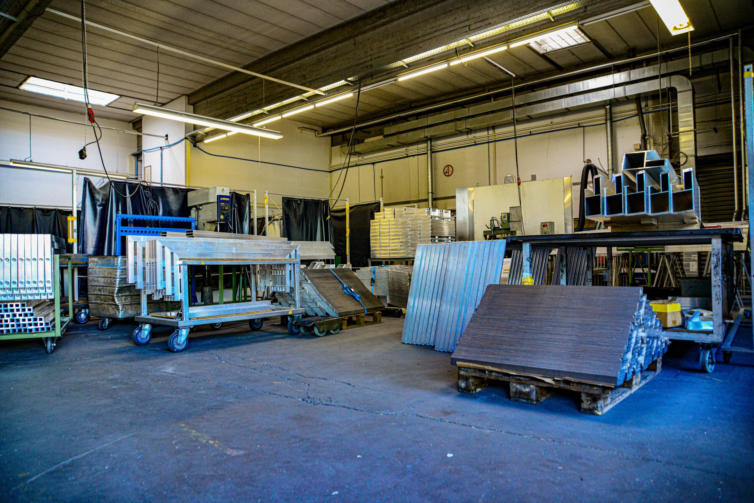 Duralin Leichtmetall GmbH Innenansicht