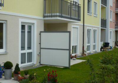 Duralin Leichtmetall GmbH Windschutzwand